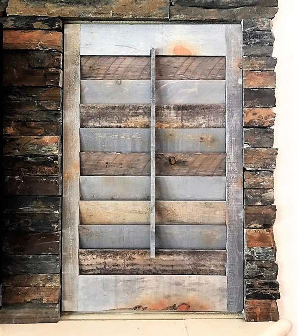 Cleveland reclaimed wood shutter