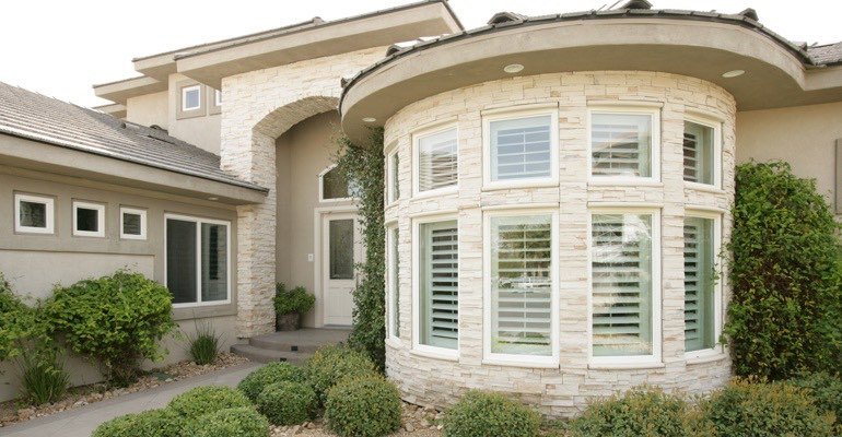 Exterior shutters Cleveland home