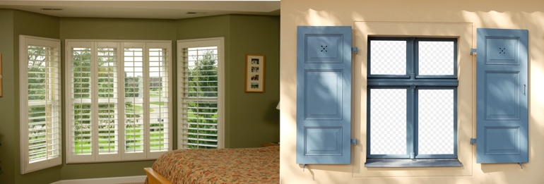 Cleveland OH outdoor and indoor shutters