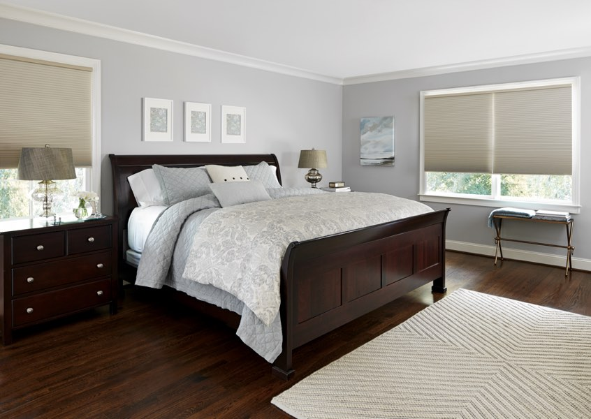 Cleveland blackout shades bedroom