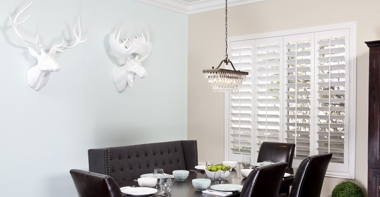Cleveland dining room shutters