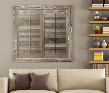Reclaimed Wood Shutters Product In Cleveland