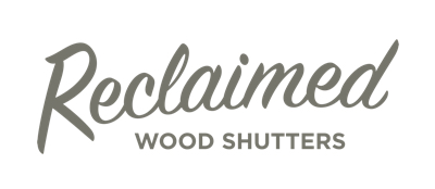 Cleveland reclaimed wood shutters