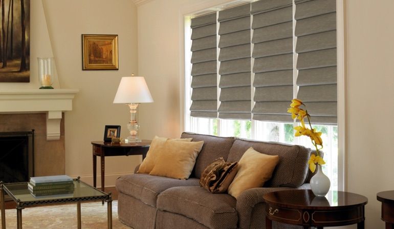Roman Shades In Cleveland, Ohio