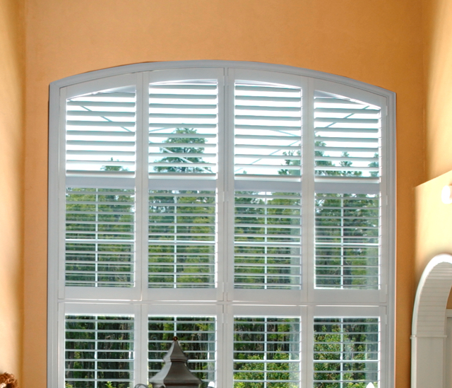 Arched Window Shutters In Cleveland, Ohio