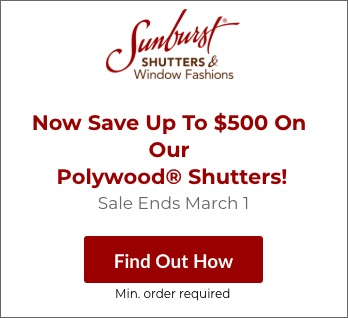 Sale on Cleveland Polywood Shutters