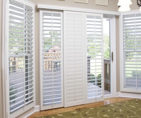 OH sliding door shutters