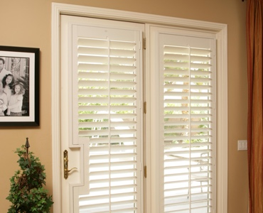 Cleveland french door shutters