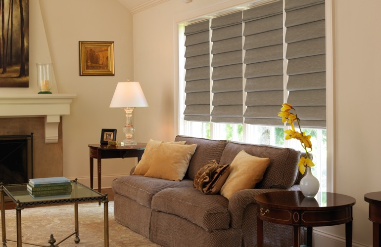 The Guide To Living Room Window Treatments In Cleveland