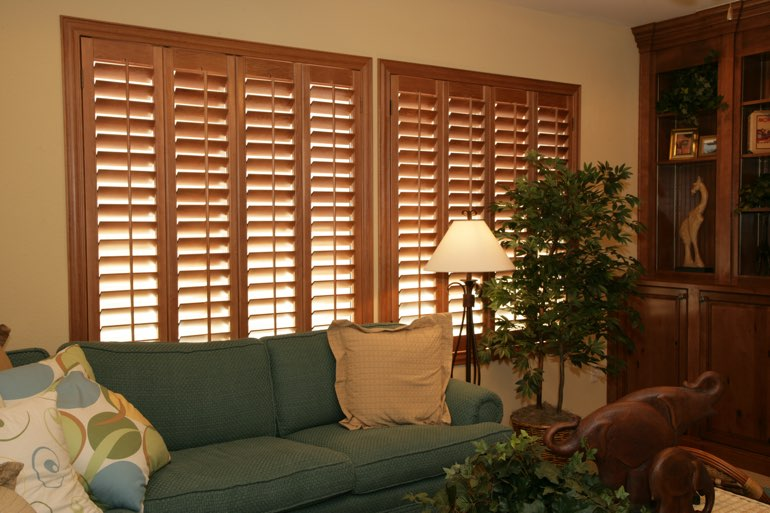 Ovation Shutters In A Cleveland Living Room.
